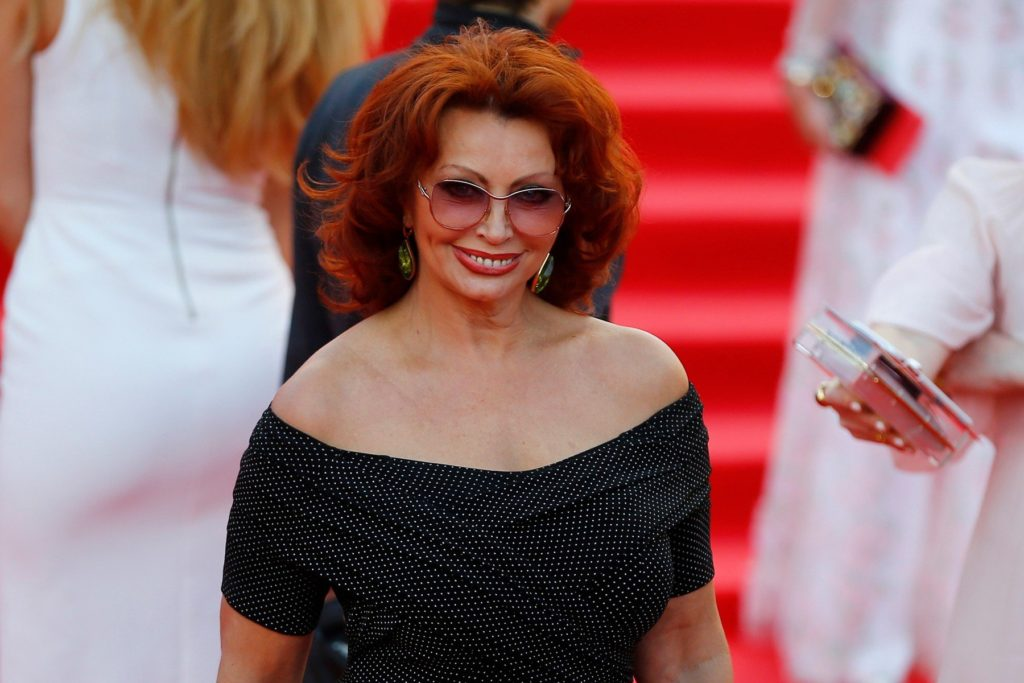 MOSCOW, RUSSIA - JUNE 23: Italian actress Sophia Loren attends the opening the 38th Moscow International Film Festival in Moscow, Russia, on June 23, 2016. Sefa Karacan / Anadolu Agency, Image: 292196720, License: Rights-managed, Restrictions: , Model Release: no, Credit line: Profimedia, Abaca