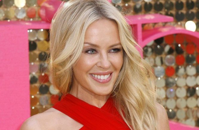 Kylie Minogue attending the World Premiere of 'Absolutely Fabulous: The Movie' at Odeon Leicester Square London, 29/07/2016, Image: 292724570, License: Rights-managed, Restrictions: , Model Release: no, Credit line: Profimedia, TEMP Camerapress