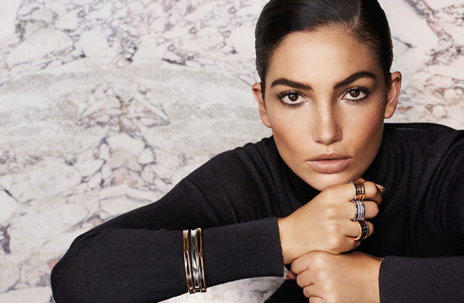 American fashion model Lily Aldridge stars in Bvlgari Fall Winter 2016 advertising campaign., Image: 303323961, License: Rights-managed, Restrictions: EDITORIAL USE ONLY, Model Release: no, Credit line: Profimedia, Balawa Pics