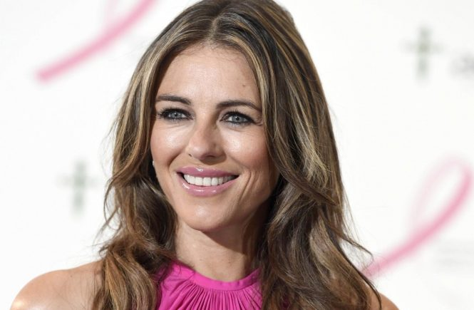 **ALL ROUND PICTURES FROM SOLARPIX.COM** **SOLARPIX RIGHTS - WORLDWIDE SYNDICATION - NO SPAIN** Liz Hurley attends a breast cancer awareness charity function in Madrid This pic: Liz Hurley **UK ONLINE USAGE ÂŁ25 PER PIC** JOB REF: 19672 DMS DATE: 27.10.16 **MUST CREDIT SOLARPIX.COM AS CONDITION OF PUBLICATION** **CALL US ON: +34 952 811 768**, Image: 304050610, License: Rights-managed, Restrictions: **MUST CREDIT SOLARPIX.COM OR DOUBLE FEE WILL BE CHARGED**, Model Release: no, Credit line: Profimedia, SOLARPIX