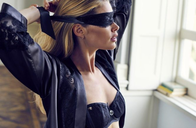 Dutch model Doutzen Kroes stunts in the new 2016 lingerie collection of Hunkemšller., Image: 304664308, License: Rights-managed, Restrictions: EDITORIAL USE ONLY, Model Release: no, Credit line: Profimedia, Balawa Pics