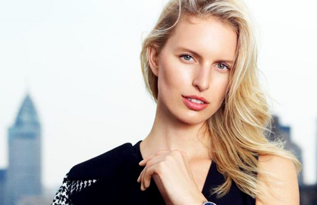 Czech fashion model Karolina Kurkova in the print ads for IWC watches Fall Winter 2016 advertising campaign., Image: 305243013, License: Rights-managed, Restrictions: EDITORIAL USE ONLY, Model Release: no, Credit line: Profimedia, Balawa Pics