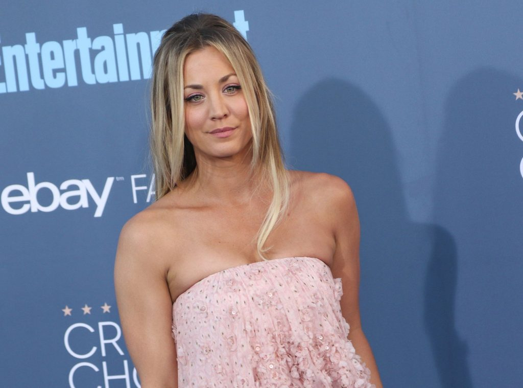 160160, Kaley Cuoco attends The 22nd Annual Critics' Choice Awards at Barker Hanger, Santa Monica. Los Angeles, California – Sunday December 11 2016., Image: 308207021, License: Rights-managed, Restrictions: , Model Release: no, Credit line: Profimedia, Pacific coast news