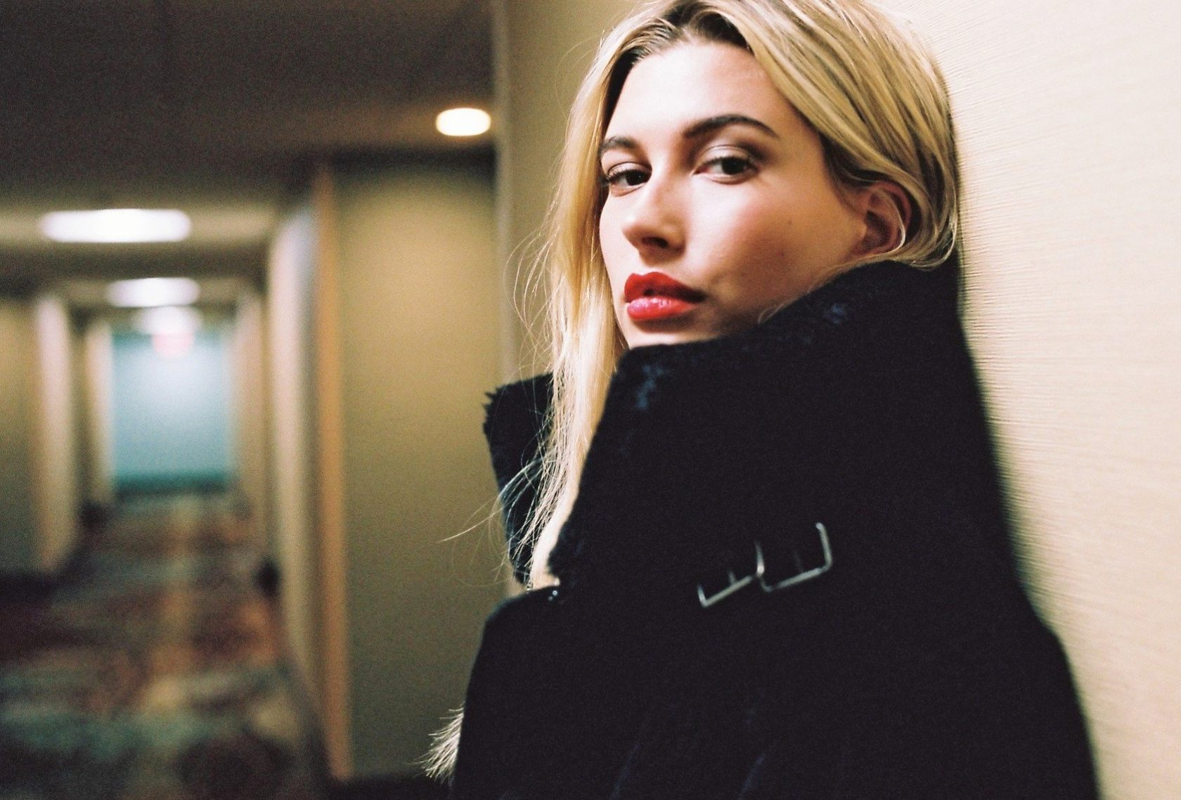American fashion model Hailey Baldwin poses for Eleven Paris Fall Winter 2016 collection., Image: 308217405, License: Rights-managed, Restrictions: EDITORIAL USE ONLY, Model Release: no, Credit line: Profimedia, Balawa Pics