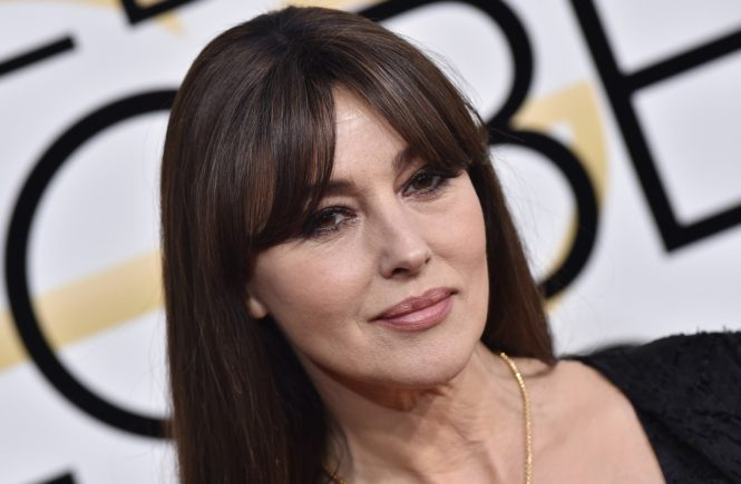 74th Annual Golden Globe Awards - Arrivals. The Beverly Hilton Hotel, Beverly Hills, CA. Pictured: Monica Bellucci. EVENT January 8, 2016 Job: 170108A2, Image: 310364881, License: Rights-managed, Restrictions: 000, Model Release: no, Credit line: Profimedia, Bauer Griffin