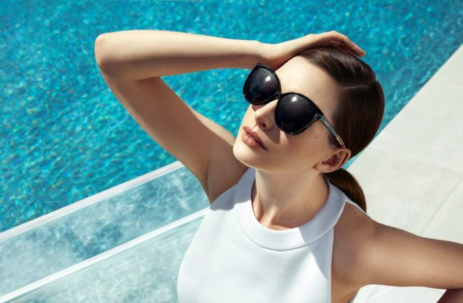 American actress Anne Hathaway poses for Spring Summer 2017 global advertising campaign of Bolon Eyewear., Image: 310453774, License: Rights-managed, Restrictions: EDITORIAL USE ONLY, Model Release: no, Credit line: Profimedia, Balawa Pics
