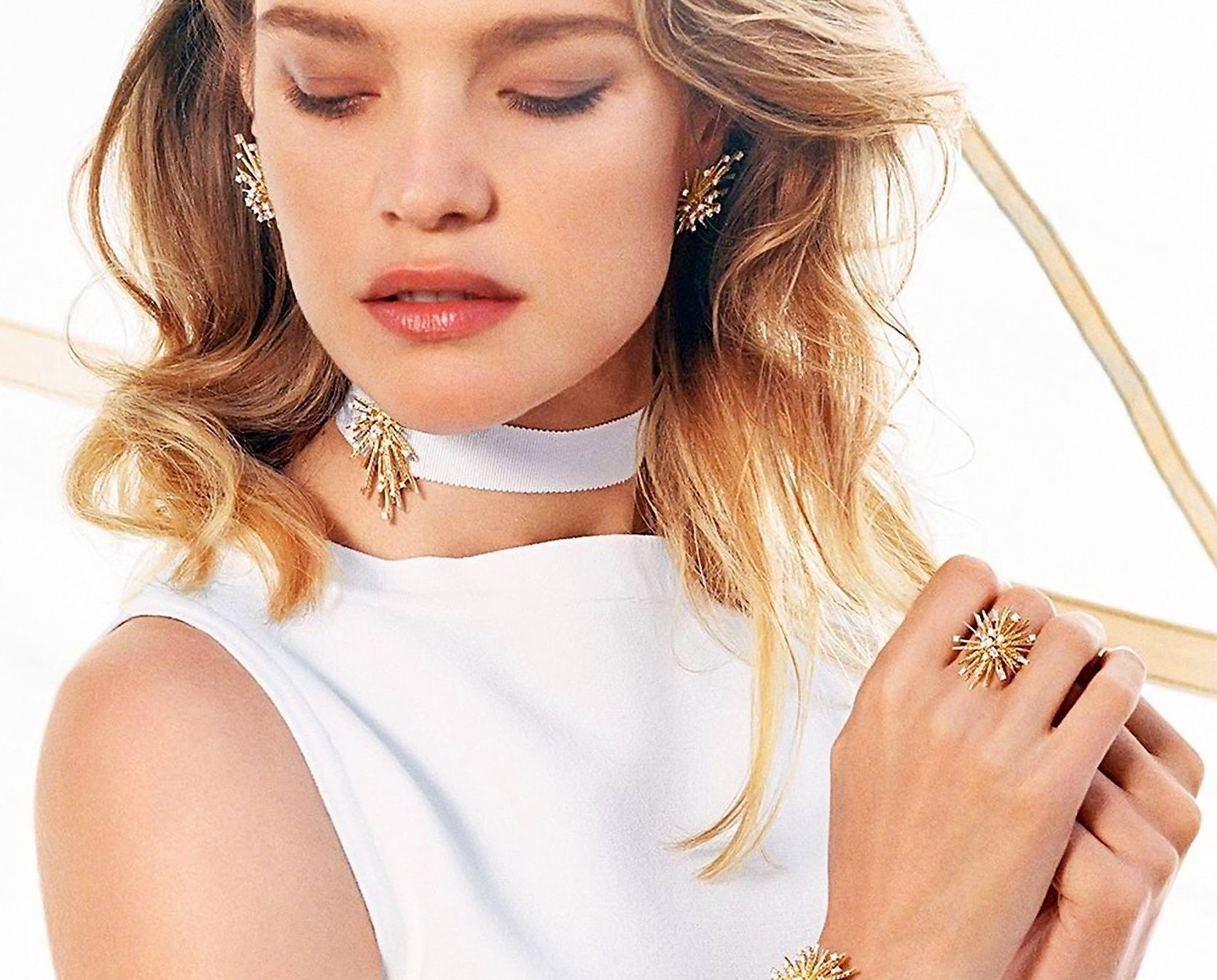Russian fashion model Natalia Vodianova stars in David Yurman Fall Winter 2016-2017 collection., Image: 313281641, License: Rights-managed, Restrictions: EDITORIAL USE ONLY, Model Release: no, Credit line: Profimedia, Balawa Pics