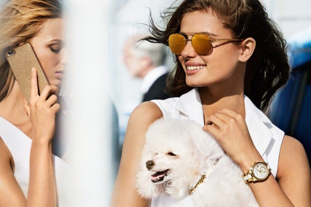 , , 07, February 2017.- Models Taylor Hill and Romee Strijd pose for Michael Kors spring summer 2017 campaign ©DJ / LAN - 7/2/17 **HANDS OUT pics, Image: 315669588, License: Rights-managed, Restrictions: Pictures in this set: 5 As the promotional pictures in this set are defined as 'Hands Out', the supplier can´t be considered responsible of subsequent sales or any other legal matter concerning to the material provided. These promotional pictures has been provided without any compromise between the parts and it is only under the responsibility of the recipient, who acknowledges the reception of these pictures as 'Hands Out'., Model Release: no, Credit line: Profimedia, Target Press