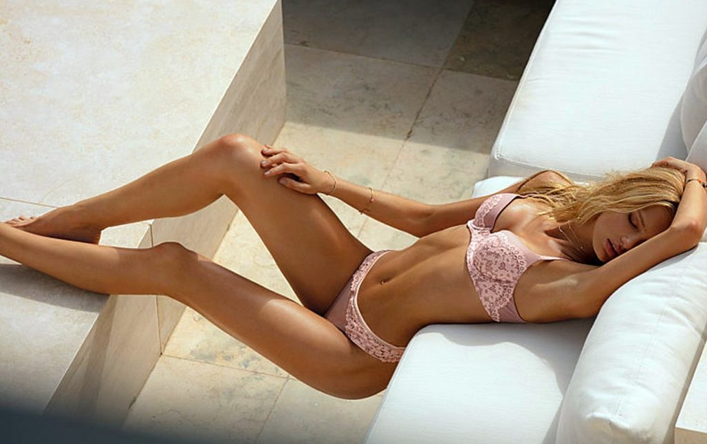 Dutch fashion model Romee Strijd in the photo session for Victoria's Secret February 2017 lingerie and VSX catalogues., Image: 320653485, License: Rights-managed, Restrictions: EDITORIAL USE ONLY, Model Release: no, Credit line: Profimedia, Balawa Pics