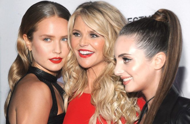 NEW YORK, NY - FEBRUARY 16: Sailor Lee Brinkley-Cook, Christie Brinkley and Alexa Ray Joel attend the Sports Illustrated Swimsuit 2017 launch event at Center415 Event Space on February 16, 2017 in New York City., Image: 321292019, License: Rights-managed, Restrictions: , Model Release: no, Credit line: Profimedia, Face To Face A
