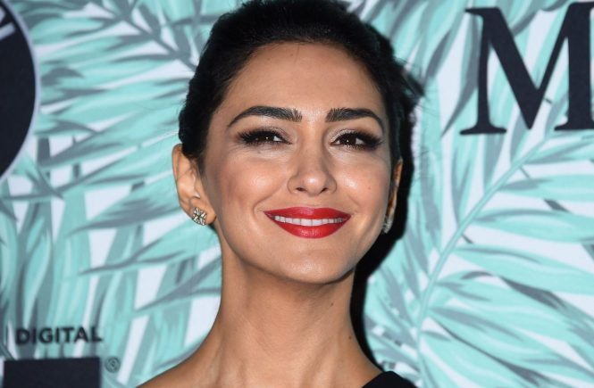 Nazanin Boniadi attending the Tenth Annual Women In Film Pre-Oscar Cocktail Party presented by Max Mara and BMW held at the Nightingale Plaza in Los Angeles, USA, Image: 322357577, License: Rights-managed, Restrictions: World rights except USA, France, Germany, Spain, Italy, Australia& NZ, Switzerland, Holland, Poland and South Africa., Model Release: no, Credit line: Profimedia, Press Association