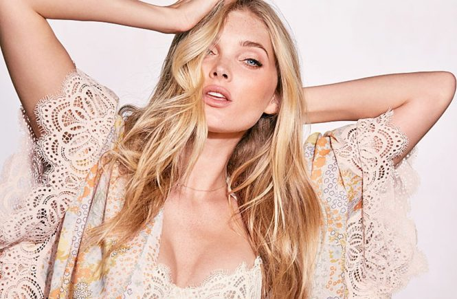 Swedish fashion model Elsa Hosk in the photo session for Victoria's Secret March 2017 lingerie catalogue., Image: 324527056, License: Rights-managed, Restrictions: EDITORIAL USE ONLY, Model Release: no, Credit line: Profimedia, Balawa Pics