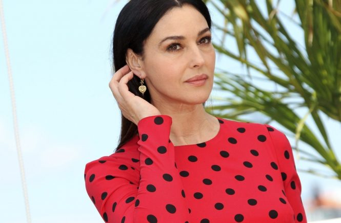 © PHOTO / LE PARISIEN / FREDERIC DUGIT 20/03 L'actrice italienne Monica Bellucci sera la maîtresse des cérémonies d'ouverture et de clôture du 70e Festival de Cannes (17-28 mai), fonction qu'elle a déjà occupée en 2003, a annoncé aujourd'hui Canal+. ARCHIVES the Italian actress Monica Bellucci will be the 2017 Cannes film festival 'Mistress' of ceremonies FILES Spectacle Palais des festival (Cannes 06): 67e festival de Cannes Photo: photocall du film LE MERAVIGLIE (Italie) [En Compétition], En présence de Des actrices, Monica BELLUCCI (Italie),, Image: 325928589, License: Rights-managed, Restrictions: OK POUR DIFFUSION, Model Release: no, Credit line: Profimedia, MAXPPP