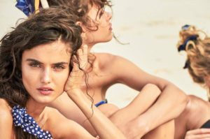 Fashion models Spanish Blanca Padilla and German Toni Garrn star in Calzedonia Spring Summer 2017 swimwear collection., Image: 329528890, License: Rights-managed, Restrictions: EDITORIAL USE ONLY, Model Release: no, Credit line: Profimedia, Balawa Pics