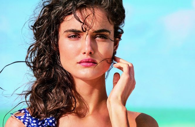 Fashion models Spanish Blanca Padilla and German Toni Garrn star in Calzedonia Spring Summer 2017 swimwear collection., Image: 329528948, License: Rights-managed, Restrictions: EDITORIAL USE ONLY, Model Release: no, Credit line: Profimedia, Balawa Pics