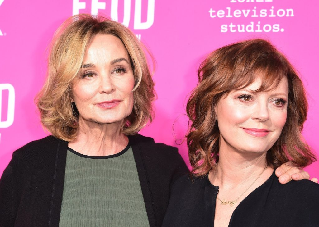 """LOS ANGELES - APRIL 21: Jessica Lange and Susan Sarandon at the FYC Red Carpet Event for """"Feud: Bette and Joan"""" presented by FX and Fox 21 Television Studios at the Wilshire Ebell Theatre on April 21, 2017 in Los Angeles, California., Image: 329808285, License: Rights-managed, Restrictions: *** World Rights ***, Model Release: no, Credit line: Profimedia, SIPA USA"""