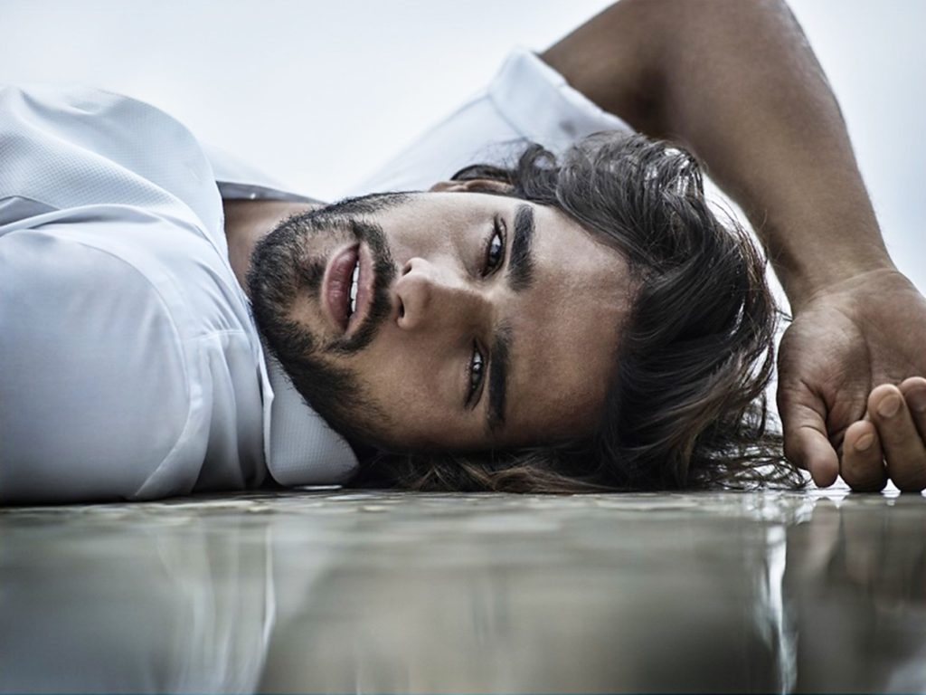 Brazilian male model Marlon Teixeira stars in Jimmy Choo Man fragrance 2017 advertising campaign., Image: 332098125, License: Rights-managed, Restrictions: EDITORIAL USE ONLY, Model Release: no, Credit line: Profimedia, Balawa Pics