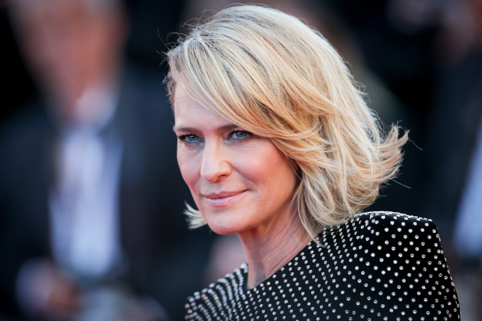 Robin Wright attends the 'Ismael's Ghosts (Les Fantomes d'Ismael)' screening and Opening Gala during the 70th annual Cannes Film Festival at Palais des Festivals on May 17, 2017 in Cannes, France., Image: 332673007, License: Rights-managed, Restrictions: , Model Release: no, Credit line: Profimedia, Abaca