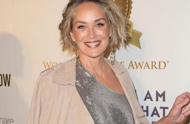 17 May 2017 - Hollywood, California - Sharon Stone. 2017 Women's Choice Award Show. Photo Credit: AdMedia