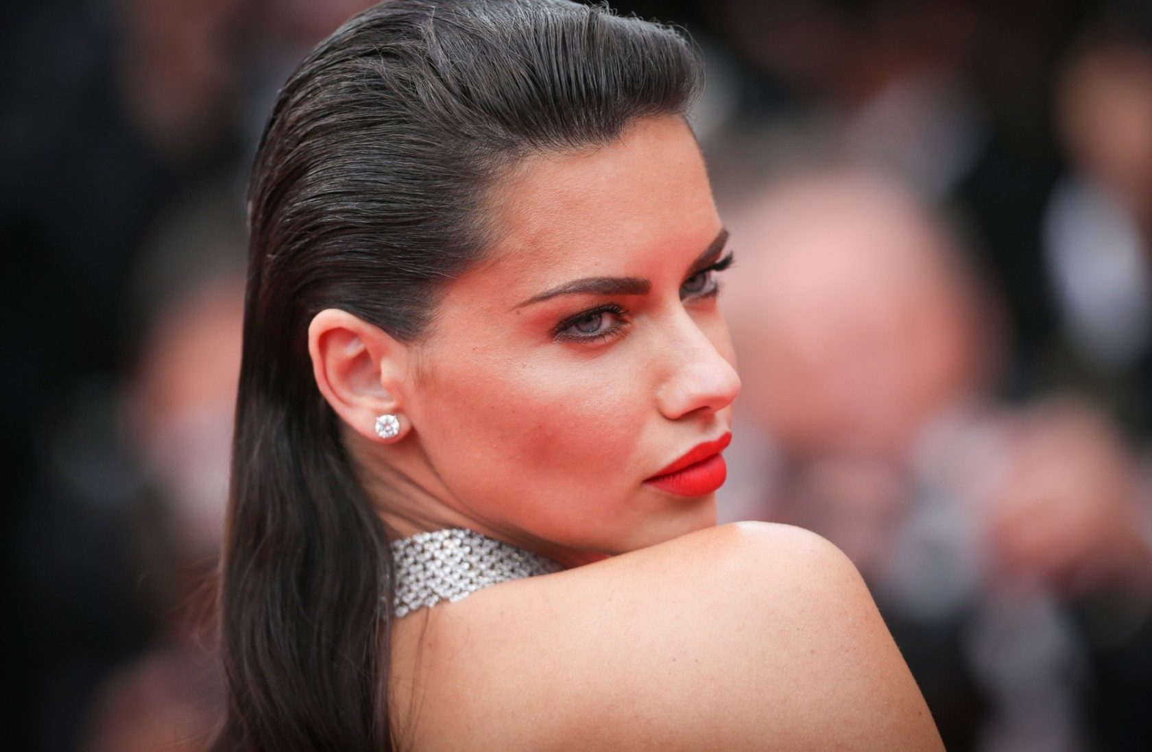 Adriana Lima attends the 'Loveless (Nelyubov)' screening during the 70th annual Cannes Film Festival at Palais des Festivals on May 18, 2017 in Cannes, France, Image: 332750754, License: Rights-managed, Restrictions: Worldwide rights, Model Release: no, Credit line: Profimedia, Crystal pictures