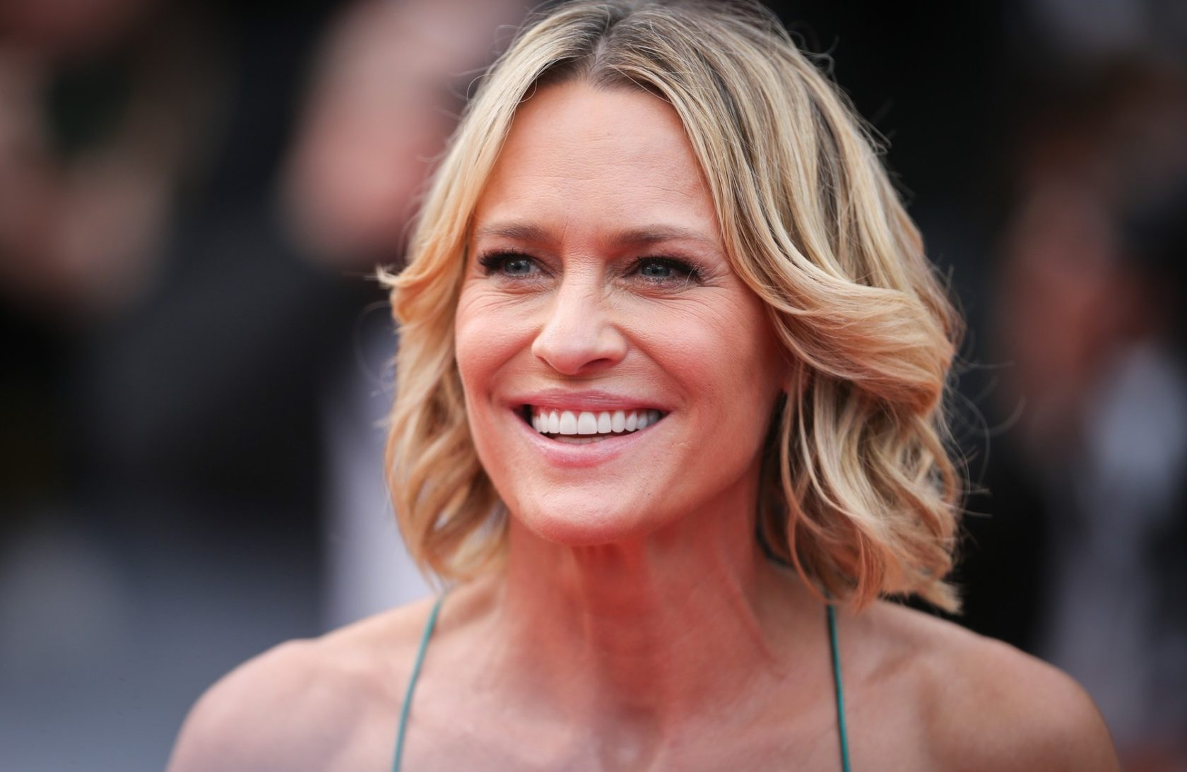 Director Robin Wright of 'The Dark of Night' attends the 'Loveless (Nelyubov)' screening during the 70th annual Cannes Film Festival at Palais des Festivals on May 18, 2017 in Cannes, France, Image: 332756326, License: Rights-managed, Restrictions: Worldwide rights, Model Release: no, Credit line: Profimedia, Crystal pictures