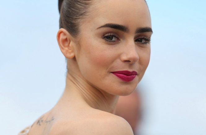 Actress Lily Collins attends the 'Okja' photocall during the 70th annual Cannes Film Festival at Palais des Festivals on May 19, 2017 in Cannes, France., Image: 332828478, License: Rights-managed, Restrictions: Worldwide rights, Model Release: no, Credit line: Profimedia, Crystal pictures