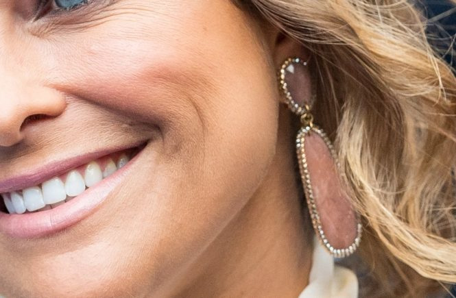 Princess Madeleine earrings / örhängen. The Swedish Royal Family was attended at the Polar Music Prize in Stockholm today at Royla Misuc Hall in Stockholm, Sweden. Pictures from the arrival to the red carpet, that was blue. Stockholm, Sweden 2017-06-15 (c) Pelle T Nilsson/Stella Pictures, Image: 337935187, License: Rights-managed, Restrictions: , Model Release: no, Credit line: Profimedia, Stella Pictures - daily