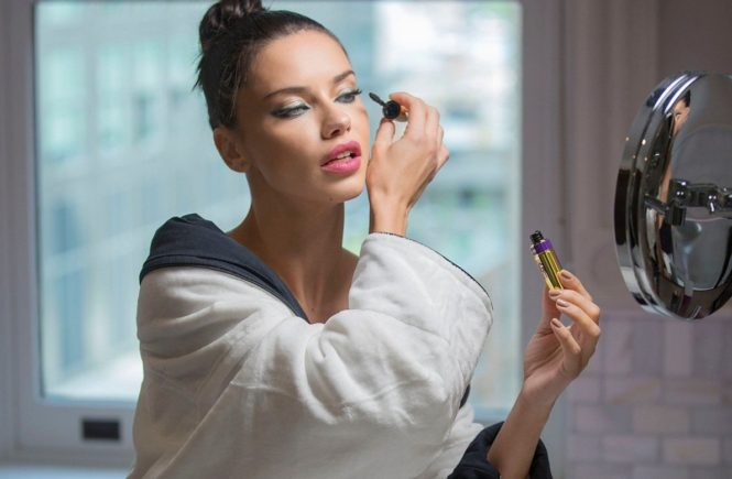 Brazilian fashion model Adriana Lima as ambassador for Maybelline 2017 collections., Image: 339498147, License: Rights-managed, Restrictions: EDITORIAL USE ONLY, Model Release: no, Credit line: Profimedia, Balawa Pics