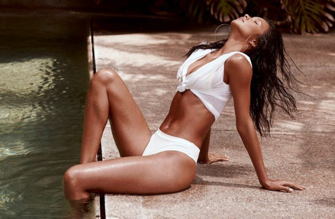 Brazilian fashion model Lais Ribeiro stars in Saudade Lookbook Spring Summer 2017 of Fae Swim., Image: 340868545, License: Rights-managed, Restrictions: EDITORIAL USE ONLY, Model Release: no, Credit line: Profimedia, Balawa Pics