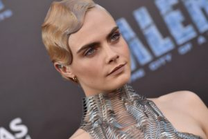 """World Premiere of """"Valerian and the City of a Thousand Planets"""". TCL Chinese Theatre, Hollywood, California. Pictured: Cara Delevingne. EVENT July 17, 2017 Job: 170717A1, Image: 342268204, License: Rights-managed, Restrictions: 000, Model Release: no, Credit line: Profimedia, Bauer Griffin"""