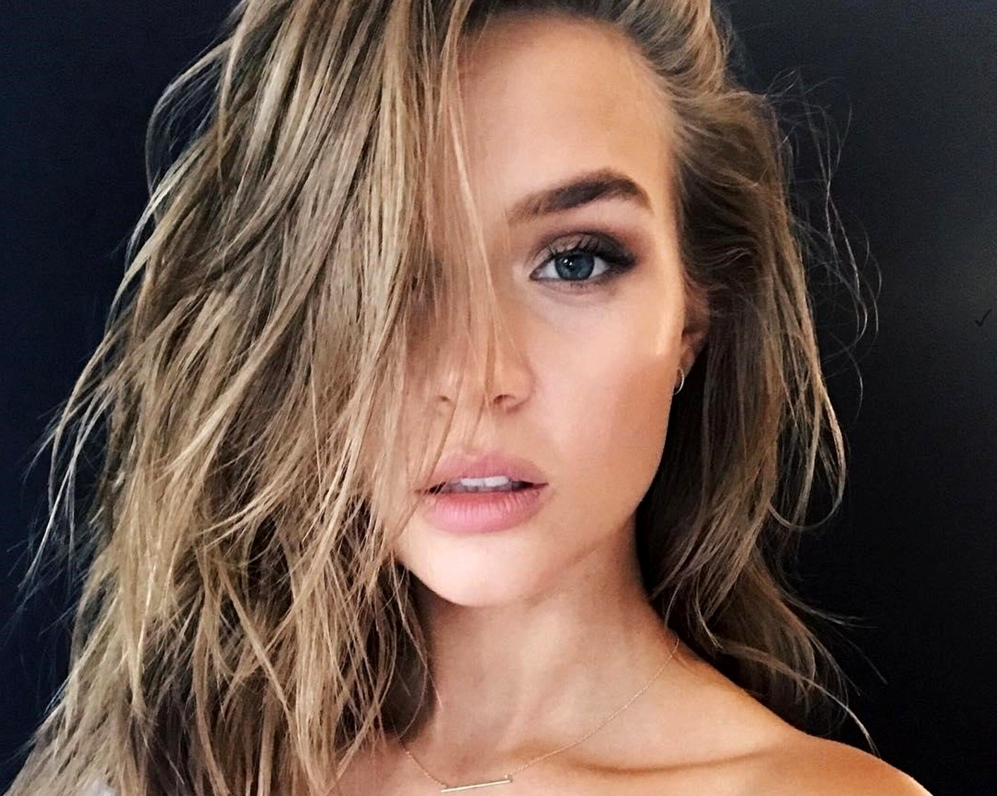 "Josephine Skriver (josephineskriver / 27.07.2017): ""back with my girl @taliasparrowmakeup, Image: 343290966, License: Rights-managed, Restrictions: , Model Release: no, Credit line: Profimedia, Face To Face A"