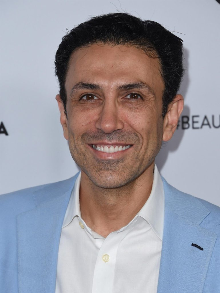 ** RIGHTS: WORLDWIDE EXCEPT IN FRANCE ** Los Angeles, CA  - Stars arrive for Beautycon 2017 held at the Los Angeles convention center.  August 12, 2017  Pictured: Simon Ourian    *UK Clients - Pictures Containing Children Please Pixelate Face Prior To Publication*, Image: 344884379, License: Rights-managed, Restrictions: , Model Release: no, Credit line: Profimedia, AKM-GSI