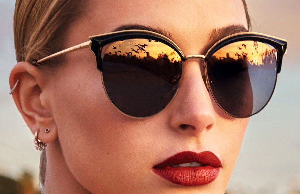 American fashion model Hailey Baldwin fronts Bolon Eyewear 2017 advertising campaign., Image: 347601001, License: Rights-managed, Restrictions: EDITORIAL USE ONLY, Model Release: no, Credit line: Profimedia, Balawa Pics