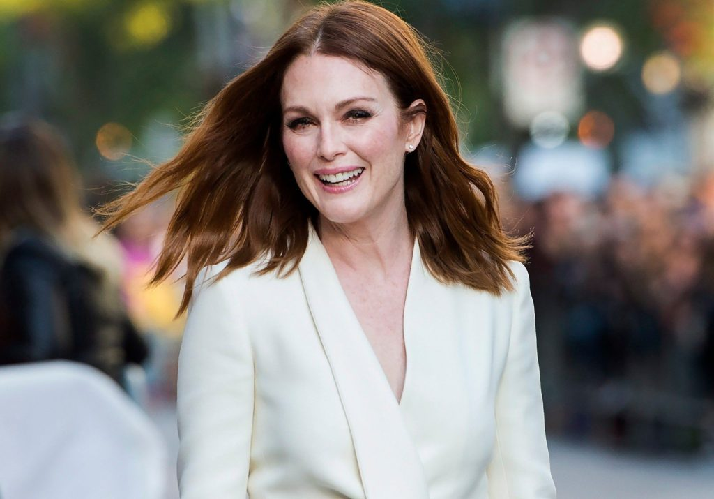 """Actress Julianne Moore arrives for the new movie """"Suburbicon"""" during the 2017 Toronto International Film Festival in Toronto, ON, Canada, on Saturday, September 9, 2017., Image: 348898118, License: Rights-managed, Restrictions: , Model Release: no, Credit line: Profimedia, Abaca"""