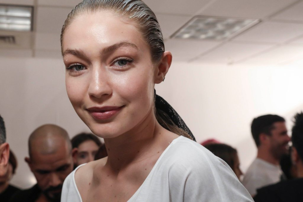 New York, USA - 9/10/2017 - Prabal Gurung Backstage During New York Fashion Week -PICTURED: Gigi Hadid -, Image: 348982924, License: Rights-managed, Restrictions: , Model Release: no, Credit line: Profimedia, INSTAR Images