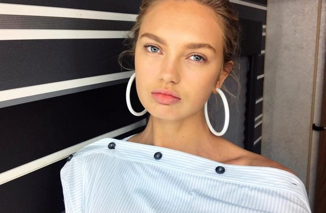 """Romee Strijd (romeestrijd / 20.09.2017): """"Sunny mornings are the best, Image: 349948528, License: Rights-managed, Restrictions: , Model Release: no, Credit line: Profimedia, Face To Face A"""
