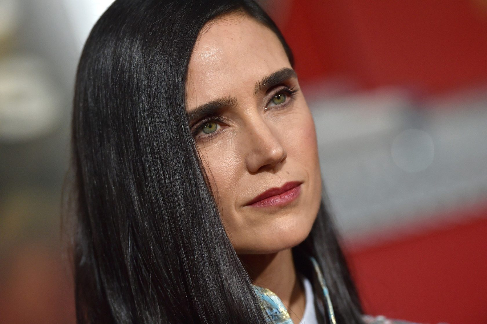 """World Premiere of """"Only The Brave"""". Regency Village Theatre, Westwood, California. Pictured: Jennifer Connelly. EVENT October 8, 2017 Job: 171008A1, Image: 352297298, License: Rights-managed, Restrictions: 000, Model Release: no, Credit line: Profimedia, Bauer Griffin"""