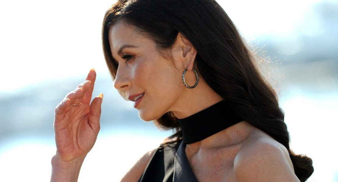 """Cannes, MipCom 2017 - Photocall """"Cocaine Godmother"""" Pictured: Catherine Zeta - Jones, Image: 353078100, License: Rights-managed, Restrictions: No model/property release was granted for this image. Pursuant to law and as previously agreed by registering on this website, the company publishing this image is required to blur or pixelate the sensitive details in such a way as to make those details un, Model Release: no, Credit line: Profimedia, IPA"""