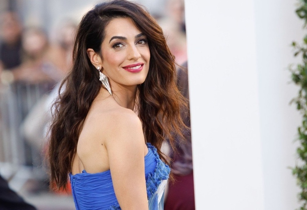 """Amal Clooney at the Premiere of Paramount Pictures' """"Suburbicon"""" held at the Regency Village Theater in Westwood, CA, October 22, 2017., Image: 353715074, License: Rights-managed, Restrictions: NO ITALY, GERMANY, BENELUX, USA or AUSTRALIA- Fee Payable Upon Reproduction - For queries contact Avalon.red - sales@avalon.red London: +44 (0) 20 7421 6000 Los Angeles: +1 (310) 822 0419 Berlin: +49 (0) 30 76 212 251, Model Release: no, Credit line: Profimedia, Uppa entertainment"""