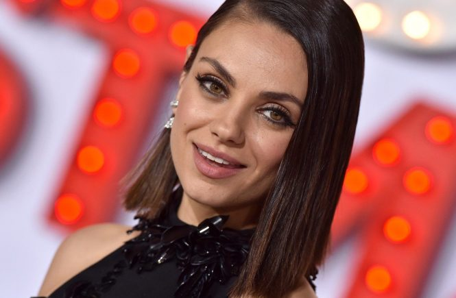 "Los Angeles Premiere of ""A Bad Moms Christmas"". Regency Village Theatre, Westwood, California. Pictured: Mila Kunis. EVENT October 30, 2017 Job: 171030A1, Image: 354278322, License: Rights-managed, Restrictions: 000, Model Release: no, Credit line: Profimedia, Bauer Griffin"