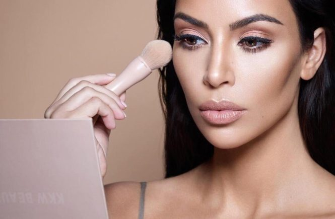 "Kim Kardashian (kimkardashian / 27.11.2017): ""FREE WORLDWIDE SHIPPING Cyber Monday!!! starts now for @kkwbeauty at kkwbeauty.com, Image: 356226053, License: Rights-managed, Restrictions: , Model Release: no, Credit line: Profimedia, Face To Face A"