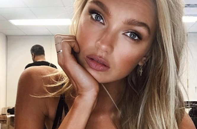 """Romee Strijd (romeestrijd / 28.11.2017): """"Pressday with the fam #VSxBALMAIN, Image: 356336796, License: Rights-managed, Restrictions: , Model Release: no, Credit line: Profimedia, Face To Face A"""