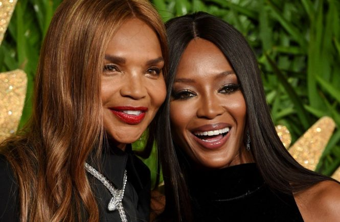 4 December 2017. The Fashion Awards 2017 held at Royal Albert Hall, Kensington Gore, London. Here: Valerie Morris, Naomi Campbell, Image: 356942290, License: Rights-managed, Restrictions: , Model Release: no, Credit line: Profimedia, Goff Photos