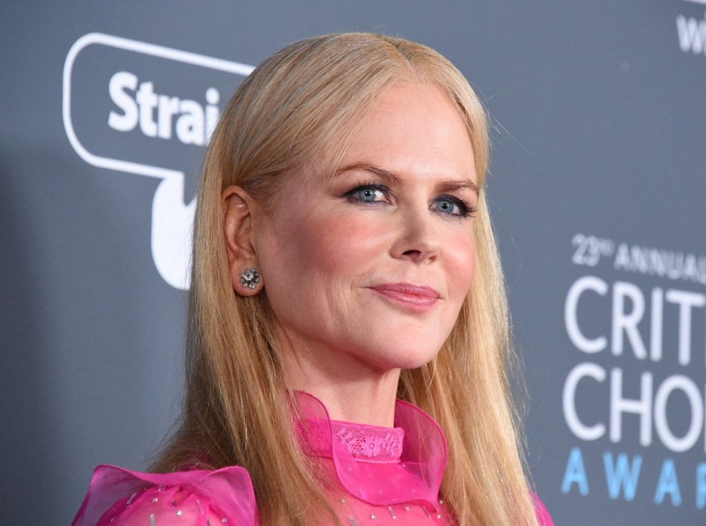 Reese Witherspoon at the 23rd Annual Critics' Choice Awards held at the Barker Hangar on January 11, 2018 in Santa Monica, CA ©Tammie Arroyo/AFF-USA.com. 11 Jan 2018 Pictured: Nicole Kidman., Image: 359909800, License: Rights-managed, Restrictions: World Rights, Model Release: no, Credit line: Profimedia, Mega Agency