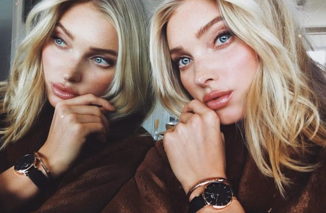 "Elsa Hosk (hoskelsa / 01.02.2018): ""Time to reflect with my @DanielWellington #DWClassicPetite watch. Get 15% off all purchases with my code ELSAHOSK at danielwellington.com. #Ad"""", Image: 362269269, License: Rights-managed, Restrictions: , Model Release: no, Credit line: Profimedia, Face To Face A"