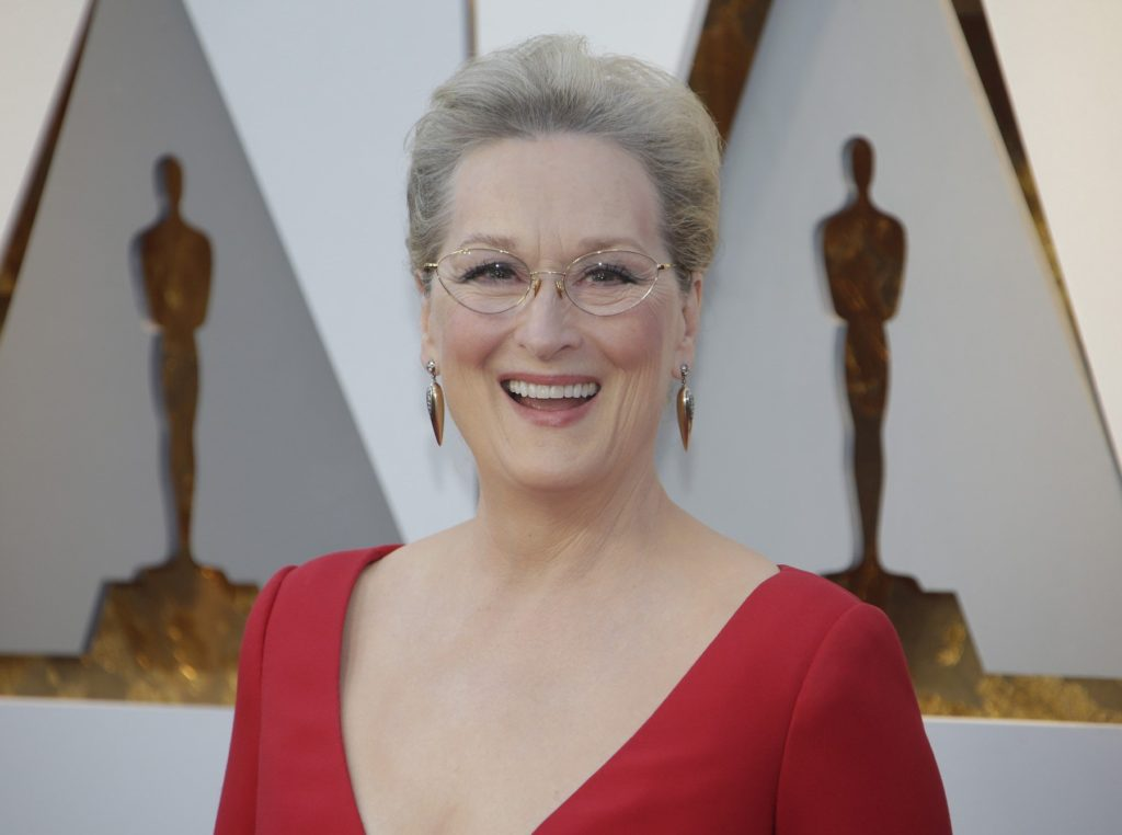 Meryl Streep arrives on the red carpet for the 90th annual Academy Awards at the Dolby Theatre in the Hollywood section of Los Angeles on March 4, 2018. Photo by /UPI, Image: 365056131, License: Rights-managed, Restrictions: , Model Release: no, Credit line: Profimedia, UPI