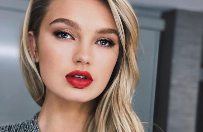 "Romee Strijd (romeestrijd / 05.03.2018): ""Let the oscars begin! "", Image: 365078621, License: Rights-managed, Restrictions: , Model Release: no, Credit line: Profimedia, Face To Face A"