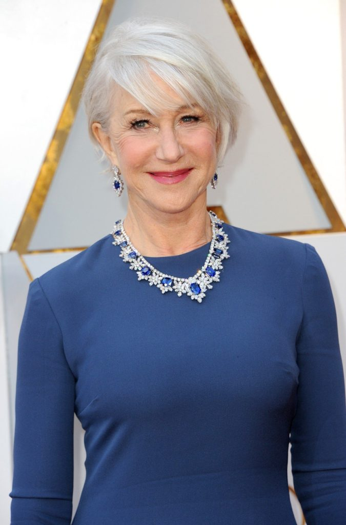 Helen Mirren at the 90th Annual Academy Awards held at the Dolby Theatre in Hollywood, USA on March 4, 2018., Image: 365132367, License: Rights-managed, Restrictions: NOT FOR SALE IN: USA., Model Release: no, Credit line: Profimedia, TEMP Camerapress