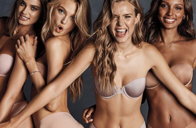 Victoria's Secret has posted a photo on Instagram with the following remarks: #KeepUpTheSexy with the bra that stays up all day & all night, no straps needed. Twitter, 2018-03-13 11:32:41. Photo supplied by insight media. Service fee applies. NICHT ZUR VERÖFFENTLICHUNG IN BÜCHERN UND BILDBÄNDEN! EDITORIAL USE ONLY! / MAY NOT BE PUBLISHED IN BOOKS AND ILLUSTRATED BOOKS! Please note: Fees charged by the agency are for the agency's services only, and do not, nor are they intended to, convey to the user any ownership of Copyright or License in the material. The agency does not claim any ownership including but not limited to Copyright or License in the attached material. By publishing this material you expressly agree to indemnify and to hold the agency and its directors, shareholders and employees harmless from any loss, claims, damages, demands, expenses (including legal fees), or any causes of action or allegation against the agency arising out of or connected in any way with publication of the material., Image: 365900724, License: Rights-managed, Restrictions: NICHT ZUR VERÖFFENTLICHUNG IN BÜCHERN UND BILDBÄNDEN! Please note additional conditions in the caption, Model Release: no, Credit line: Profimedia, Insight Media