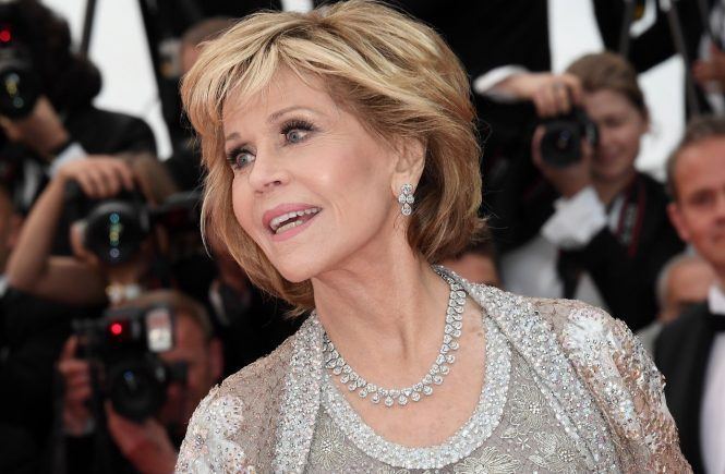 Jane Fonda 'Blackkklansman' premiere, 71st Cannes Film Festival, 14 May 2018, Image: 371776278, License: Rights-managed, Restrictions: UK and ITALY OUT - Fee Payable Upon Reproduction - For queries contact Avalon.red - sales@avalon.red London: +44 (0) 20 7421 6000 Los Angeles: +1 (310) 822 0419 Berlin: +49 (0) 30 76 212 251 Madrid: +34 91 533 4289, Model Release: no, Credit line: Profimedia, Uppa entertainment